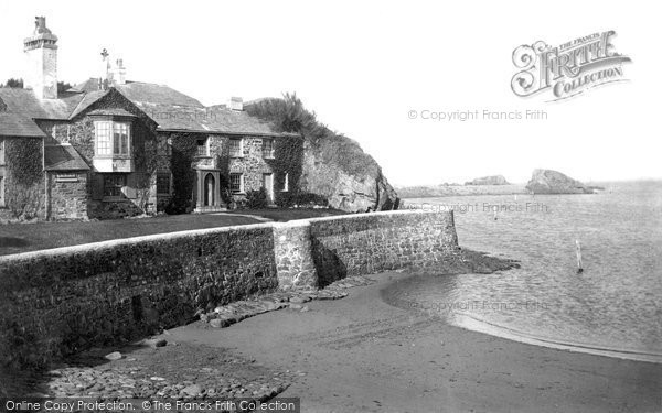 Photo of Bude, Efford Cottage 1890