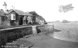 Bude, Efford Cottage 1890