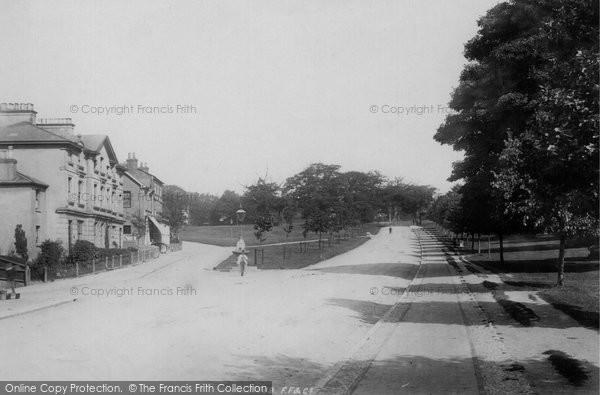 Bude, Efford Cottage 1893