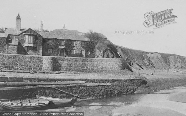 Photo of Bude, Efford Cottage 1893