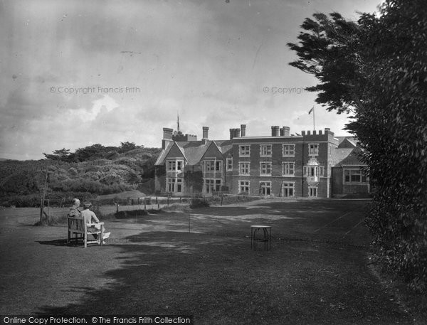 Photo Of Bude Efford Down Hotel 1935 Francis Frith
