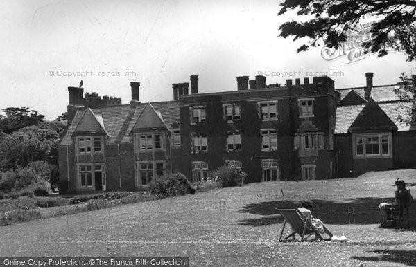Photo Of Bude Efford Down Hotel C 1960 Francis Frith
