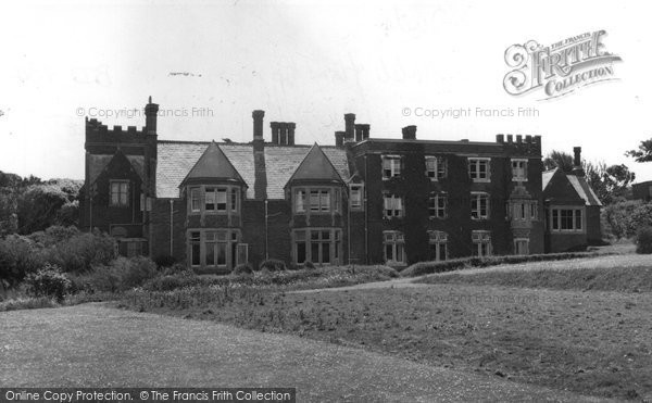 Photo of Bude, Efford Down Hotel c1960