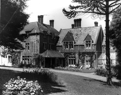 Bude, Efford Down House c.1960
