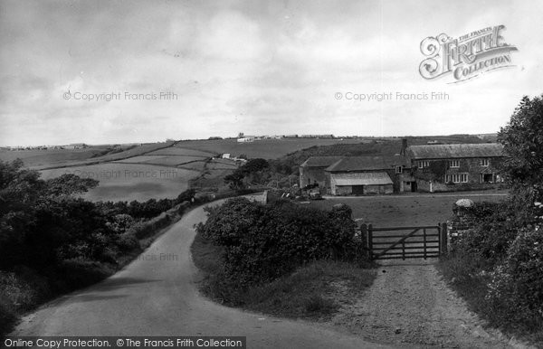 Bude, Entrance To The Combe Valley c.1960