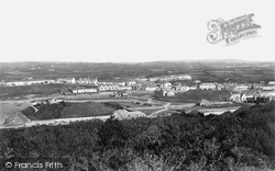 Bude, From Above The Church 1890