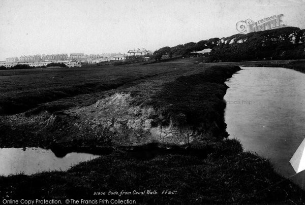 Bude, From Canal Walk 1893