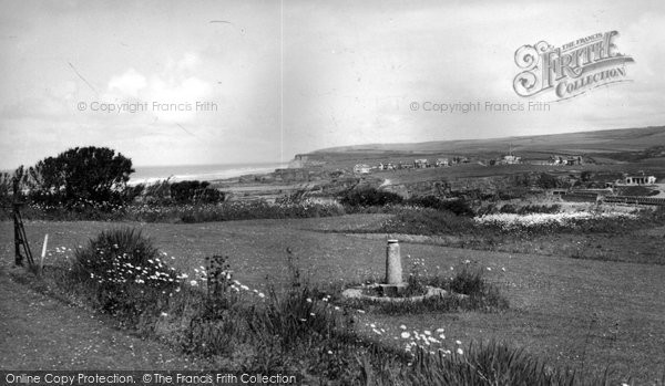 Bude, From Efford Down Hotel c.1960
