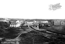 Bude, From Summerlee Down 1890
