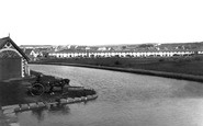 Bude, From The Canal 1890