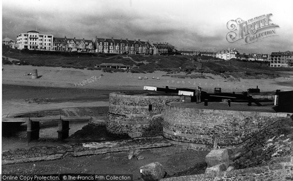 Bude, From The Lock Gates c.1955