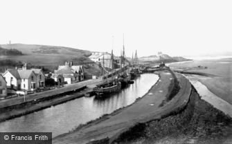 Bude, Harbour 1890