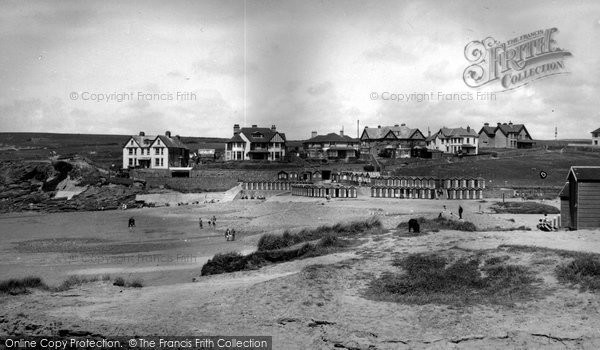 Bude, Maer Beach c.1960