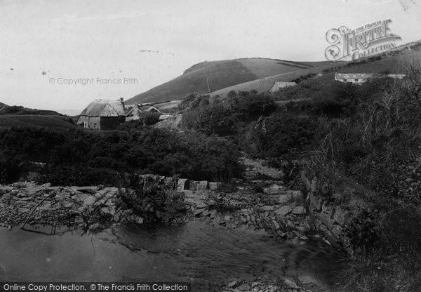 Bude, Melnach Valley c.1880