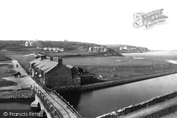 Bude, Old Bridge And Castle 1890