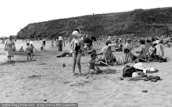 Bude, On The Beach c.1960