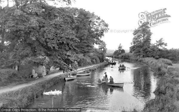 Bude, On The Canal 1928