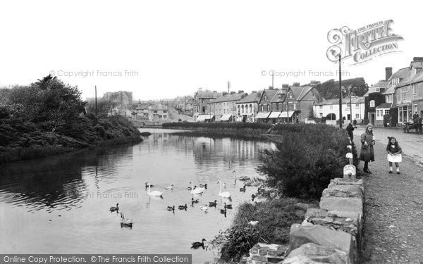 Bude, River And The Strand 1923