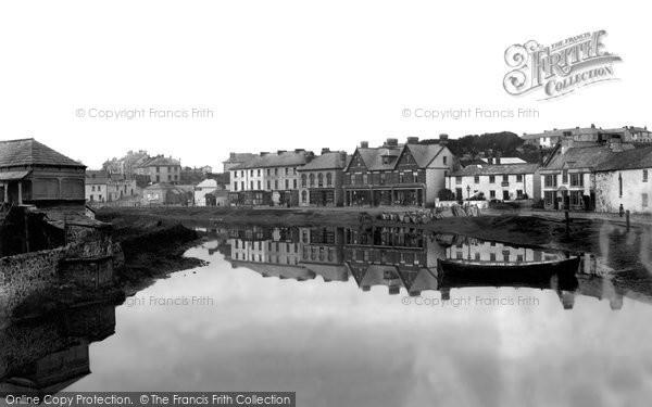 Bude, River Neet From The Bridge 1890