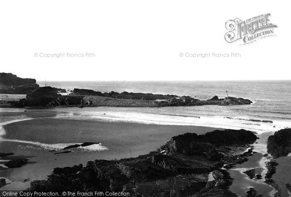 Bude, Rocks From Summerlee Down 1890