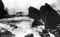 Bude, Rough Sea 1893