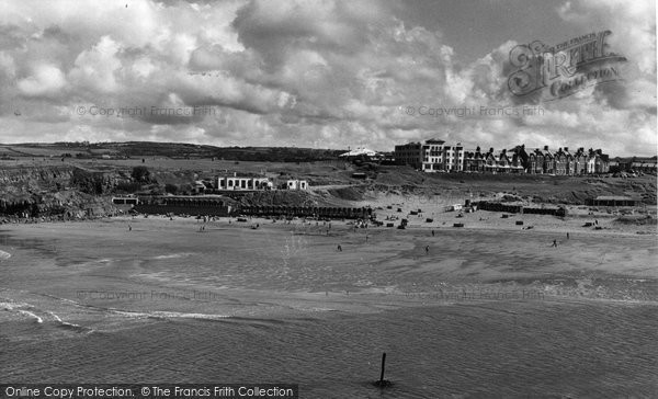 Bude, Summerleaze Beach c.1960