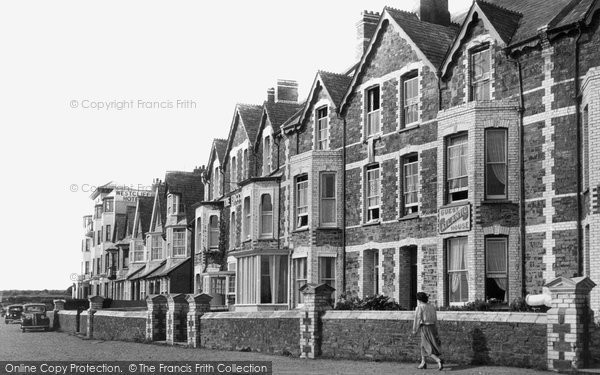 Bude, Summerleaze Crescent 1949