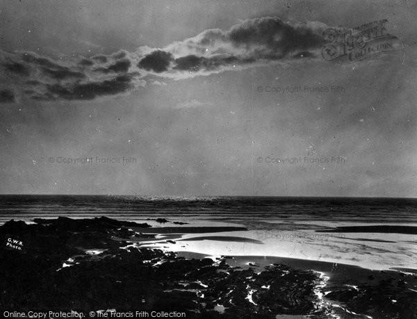 Bude, Sunset, Summerleage c.1930