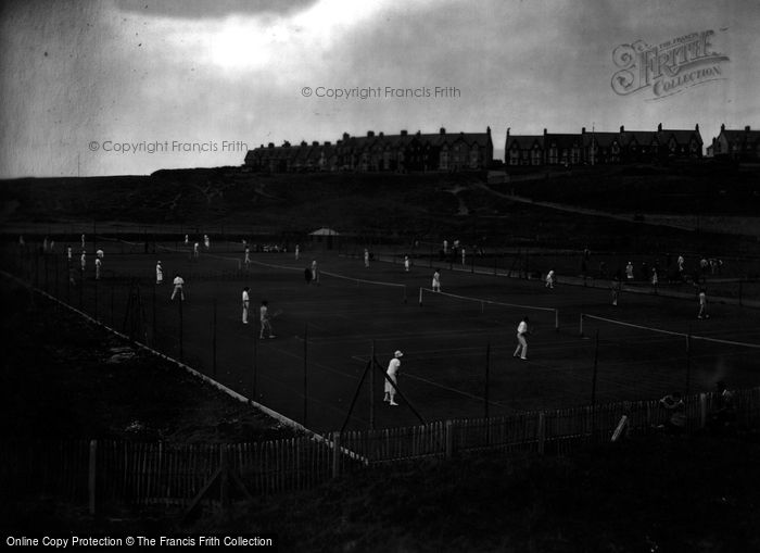 Bude, Tennis Courts 1926