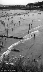 Bude, The Beach c.1960