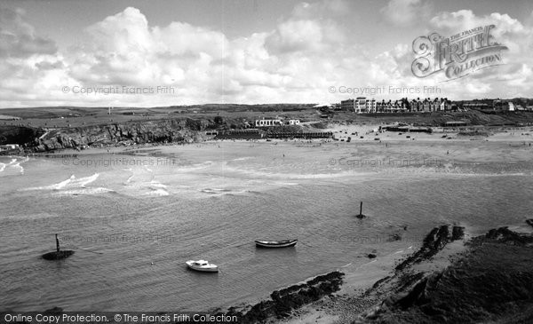 Bude, The Beach c.1960