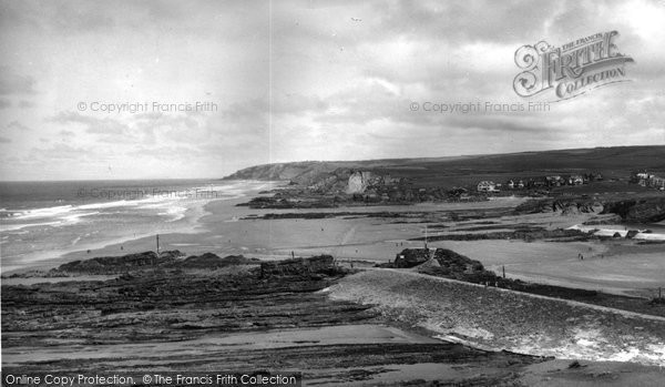 Bude, The Breakwater c.1960