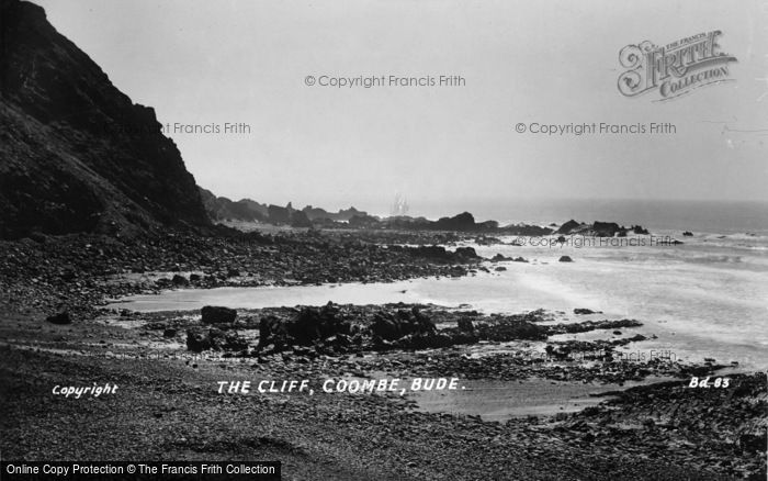 Photo of Bude, The Cliff, Coombe c.1930