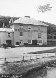 Bude, The Falcon Hotel 1906