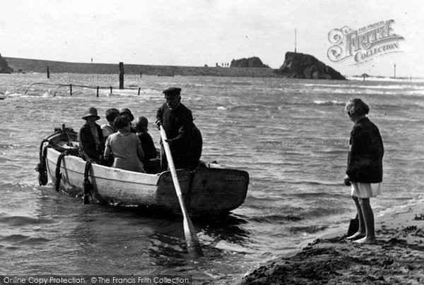 Bude, The Ferry 1926