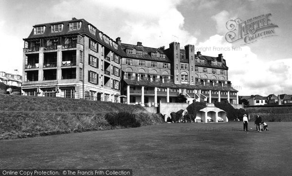 Bude, The Grenville Hotel c.1960