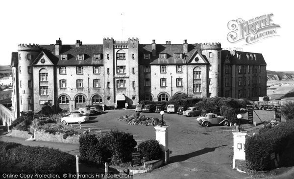 Photo of Bude, the Grenville Hotel c1960