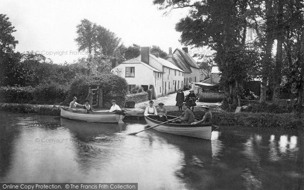 Bude, The River Neet 1920