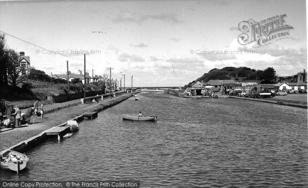 Bude, The River Neet c.1960