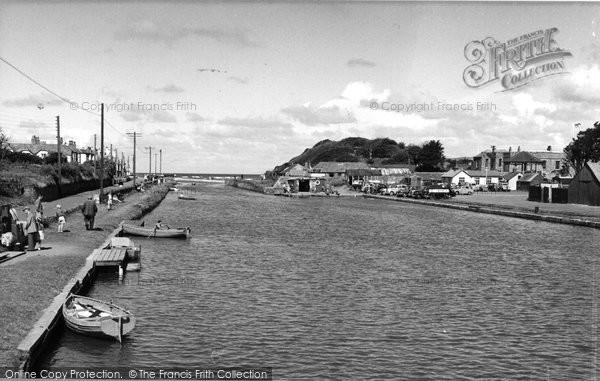Bude, The River Neet c.1960