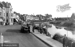 Bude, The Strand c.1950