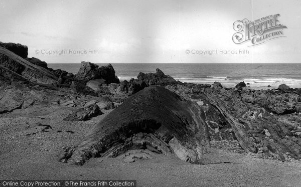 Bude, The Whale Back c.1960