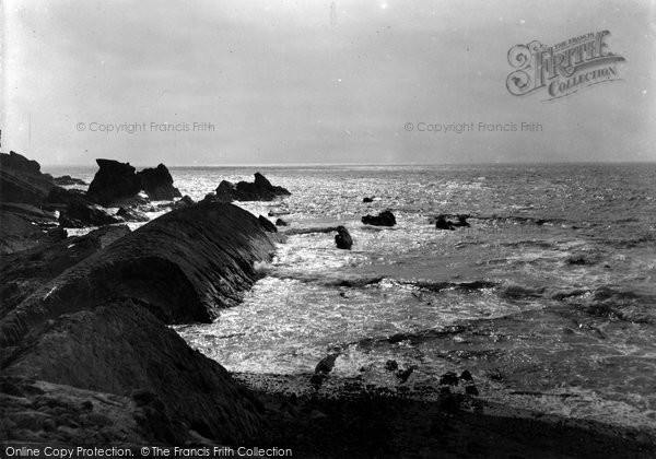 Bude, The Whale's Back 1928