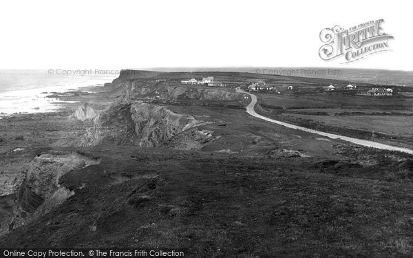 Bude, Upton Cliffs 1926