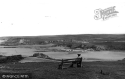 Bude, View From Efford Down Hotel c.1969