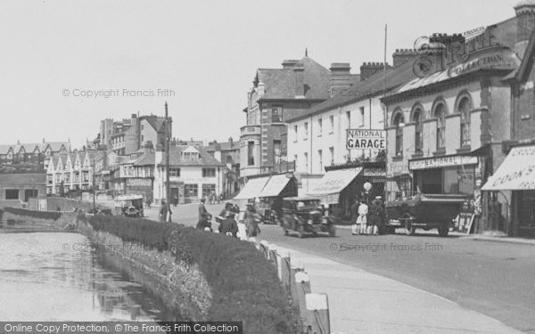 Photo of Bude, Visitors On The Strand 1928