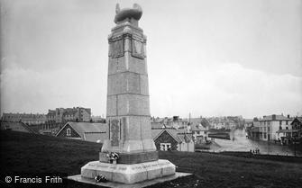 Bude, War Memorial 1923