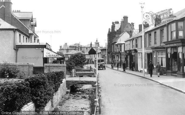 Budleigh Salterton, Fore Street 1928