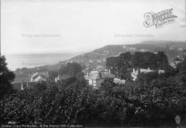 Budleigh Salterton, From Cricket Field 1890