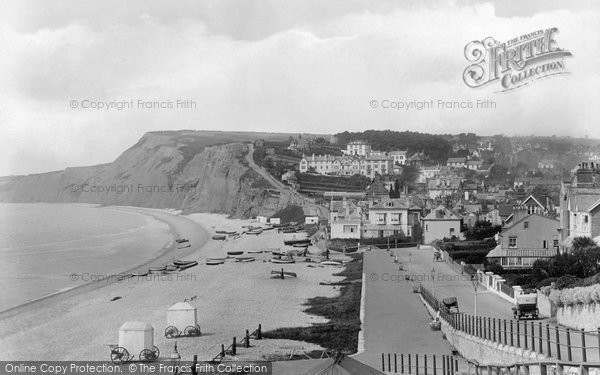 Budleigh Salterton, From East 1925